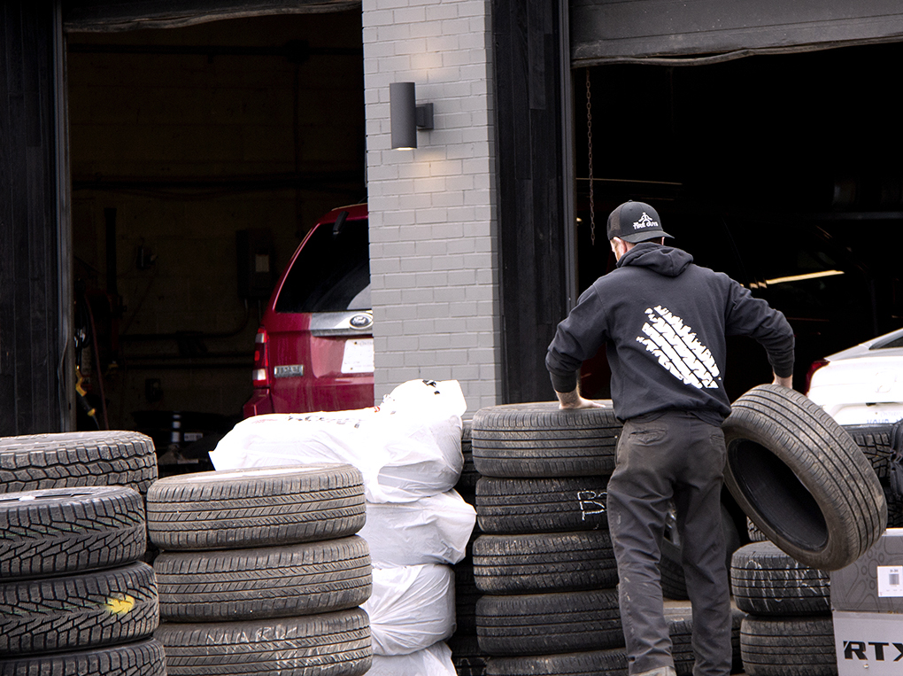 we store your tires